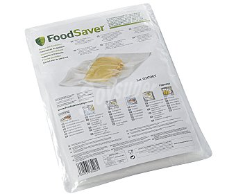 FOODSAVER Pack de 48 bolsas de envasado al vacío FSB4802, 20.7 x 29.2 cm 20.7 x 29.2 cm