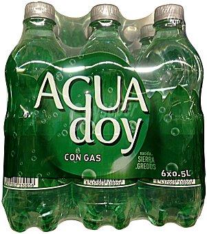 Aguadoy Agua con gas Pack 6 x 1500 cc - 9000 cc