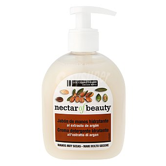 Les Cosmetiques Jabón crema hidratante con aceite de argán 300 ml.