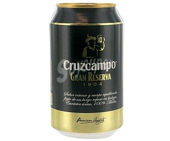 Cruzcampo Gran Reserva Cerveza Gran Reserva Lata 33 cl