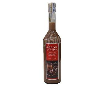Abadía da Cova Crema de licor de cereza con chocolate botella de 70 cl