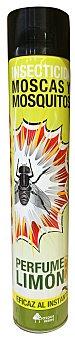 Bosque Verde Insecticida spray limon eficaz (insectos voladores) (color amarillo) *verano* Bote 750 cc