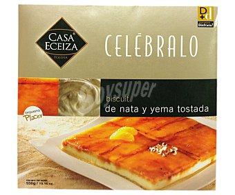Casa Eceiza Tarta biscuit de nata-yema Caja 550 g