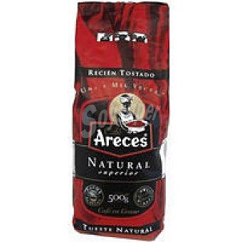 Areces Café en grano natural Paquete 500 g