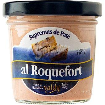 VALDY Paté al roquefort Frasco de 110 g