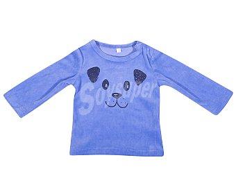 In Extenso Pijama de bebe de terciopelo, color azul, talla 74