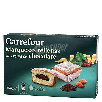 Carrefour Marquesas rellenas de chocolate 300 g